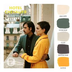 Wes Anderson - Hotel Chevalier / Color Palette