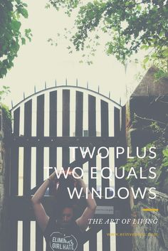 Two Plus Two Equals Windows