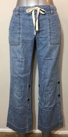Old Navy 6 Jeans Just Below Waist Boot Cut  | eBay