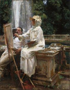 The Fountain, Villa Torlonia, Frascati, Italy, 1907 by             John Singer Sargent            1907