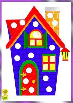 Фотографии Развивающие мультики и картинки – 18 альбомов Plastic Bottle Caps, Lacing Cards, Do A Dot, Montessori Materials, Color Activities, Learning Colors, Dot Painting, Paper Dolls, Preschool
