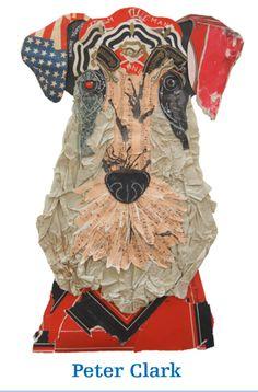 Peter Clark Paper Dog