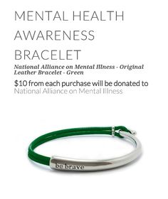 Mental Health Awareness Bracelet More