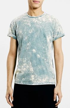 Topman Acid Wash Roller T-Shirt available at #Nordstrom