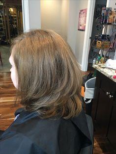 Beautiful layered, low maintenance cut!!❤