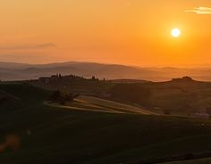 Behance, Celestial, Sunset, Gallery, Check, Photography, Outdoor, Photos, Tuscany