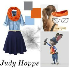 Outfit Disney zootopia judy hopps #disney #thpixieplanner www.thepixieplanner.com