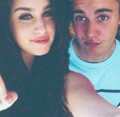 Lauren Jauregui and Justin Bieber manip