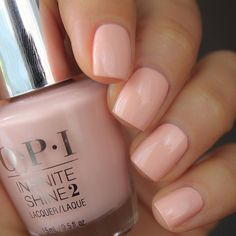 The 35 Prettiest Wedding Nail Colors - love this OPI nail color - nude with a touch of peach nails opi Peach Colored Nails, Peach Nails, Neutral Nail Color, Opi Nail Colors, Peach Nail Colors, Fancy Nails, Cute Nails, Pretty Nails, Wedding Nail Colors