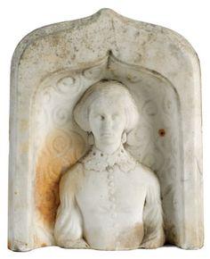 Headstone figure, Oscar Blake, circa 1860-1880