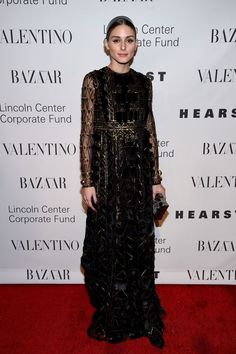 30 Times Olivia Palermo Was The Ultimate Street Style MVP #refinery29  http://www.refinery29.com/olivia-palermo-style-pictures#slide-10  This Valentino number is the perfect example of how to take a black tie dress code and make it your own....