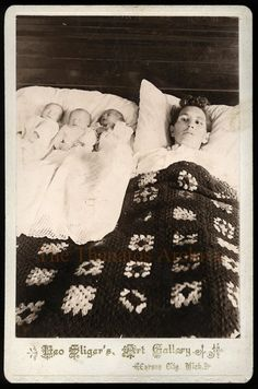 POST-MORTEM PHOTOGRAPHY The discovery of the Invisible Mother Photos sparked the memory of another bizarre 19th Century tradition of photographing family.
