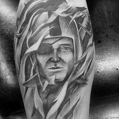 40 Oakland Raiders Tattoos For Men - Football Ink Design Ideas Raiders Fans, Oakland Raiders, Leg Tattoos, Tattoos For Guys, Raiders Tattoos, Rip Tattoo, Skin Shades, The Underdogs, Raider Nation