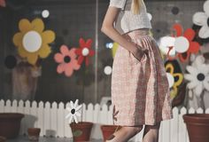 London Fashion Week: @orlakiely  SS15 - new post on www.rosaspinavintage.com