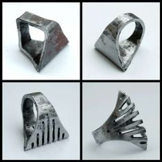 exotic forged iron jewellery