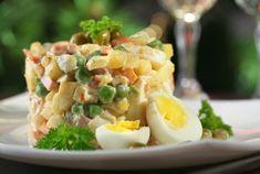 Balta mišrainė   Lithuanian White Salad