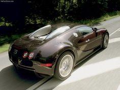 The first Bugatti Veyron