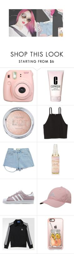 """"""""""" we like 2 party """" BIGBANG"""" by fxllenangel ❤ liked on Polyvore featuring Fujifilm, Clinique, Chicnova Fashion, adidas Originals, adidas, Casetify and wxnderlxndsets"""