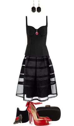 """Chic Goth"" by angela-windsor on Polyvore"