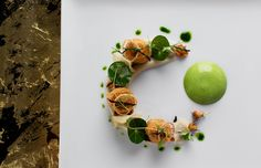Amber - Hongkong, China - Ambitious, highly polished gastronomy from a Dutch master.-- No.6 Nest Restaurant in Asia