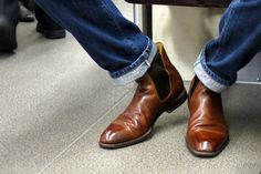 Why more men should get good shoes