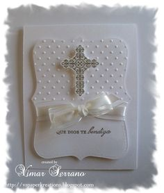 die cut communion card | Would you will like to get Crosses of Hope stamp set from Stampin Up ...