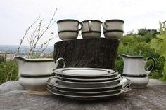 Tea Set Tea Cups Bavaria Winterling Kirchenlamitz Coffee by Diamir Coffee Set, Milk Jug, Cake Plates, Bavaria, Tea Set, Tea Cups, My Etsy Shop, Porcelain, Pottery