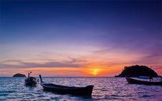 Amaneciendo en Koh Lipe #kohlipe #tailandia #thailand #boat #barca #sunrise #amanecer