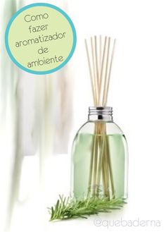 Como fazer home spray Diy Cleaning Products, Cleaning Hacks, Perfume, Little Bit, Home Hacks, Homemade Gifts, Clean House, Diy Art, Diffuser