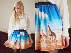 landscape skirt.