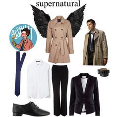 Supernatural cosplay: Castiel