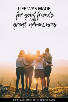 65 Adventure Quotes to Inspire You To Explore Our Amazing World! is part of Travel quotes adventure - In need of a little pick me up Or just want to get in the mood for your next epic trip This list of 65 Amazing Adventure Quotes can help you out! New Quotes, Funny Quotes, Life Quotes, Inspirational Quotes, Journey Quotes, Change Quotes, Travel With Friends Quotes, Best Travel Quotes, Quote Travel