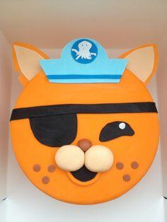 Kwazii Octonauts cake-www.facebook.com/2littlecupcakes