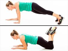 Exercises for Arms and Shoulders Plank Up