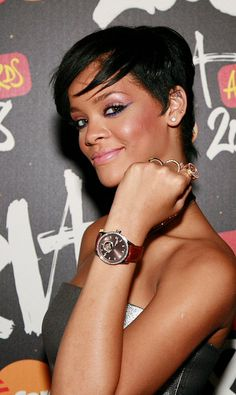 Check out Rhianna and her @RAYMOND WEIL