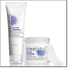 CLEARSKIN® BLEMISH CLEARING Clears up regular blemishes & helps prevent new ones. Foaming Cleanser 4.2 fl. oz. Price:  $3.99 Acne Pads 30 pads. Price: $3.49