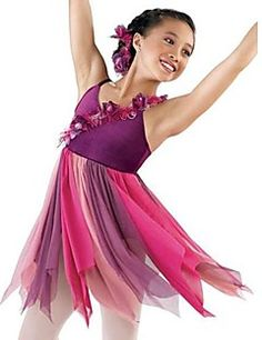 Performance Children & Adults Lyrical Ballet Dress – USD $ 53.35