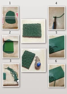Tutorial:Texture sheet from polymer clay for PMC