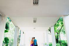 Fotografia Pré-casamento | Roberta e Thiago | Colégio Rainha da Paz | São Paulo - SP - Fotos por Ale Borges