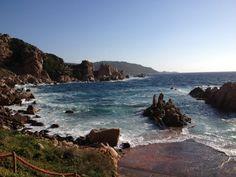#coast #sea #sardinia #italy #nature #italy #holiday #panorama by Steve Winspers