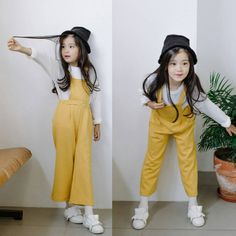 Girls Fashion Clothes, Kids Outfits Girls, Baby Girl Fashion, Girly Outfits, Toddler Outfits, Kids Fashion, Cute Outfits, Cute Asian Babies, Korean Babies