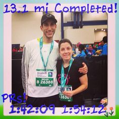 Feeling Accomplished! Always push yourself to be better than you think you can be. #NeverGiveUp #Houston #halfmarathon #runner