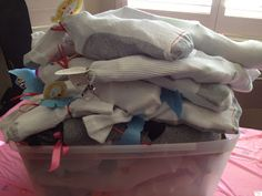 Socks of Love: Socks filled with travel-sized hygiene items to donate to shelters