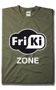Camiseta Friki Zone