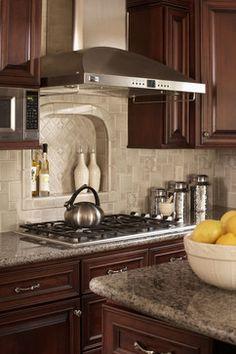 Decorative Tile Inserts Kitchen Backsplash Stone Kitchen Backsplash With White Cabinets  Backsplash For