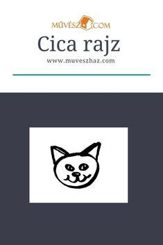 Cica rajz>> Kattint és megmutatjuk lépésről lépésre, hogy hogyan készíts cicát.