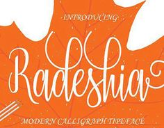 "Check out new work on my @Behance portfolio: ""Radeshia Script Font"" http://be.net/gallery/47731585/Radeshia-Script-Font"