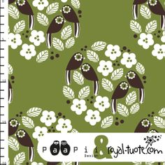 PaaPii Design - Linnunrata jersey, vihreä