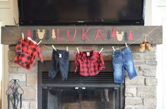 Lumberjack-Themed Baby Shower - Project Nursery