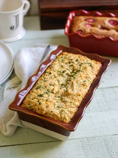 Easy Quick Bread Two Ways- Strawberry Banana and Cheddar Chive - tasty